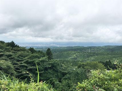 山中城 三島市眺望地点