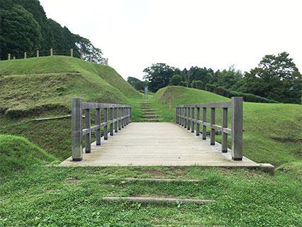 山中城 二の丸 架橋