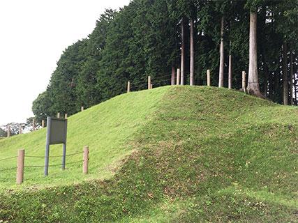 山中城 本丸 櫓台
