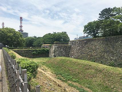 名古屋城 空堀