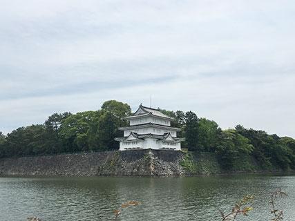 名古屋城 水堀 清須櫓