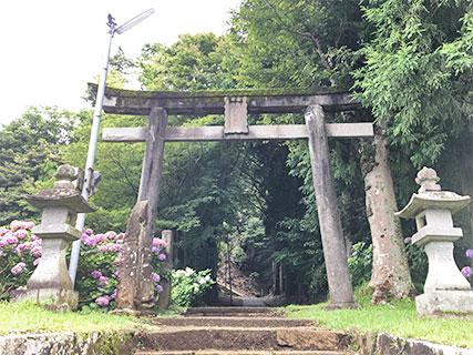 山中城 諏訪駒形神社
