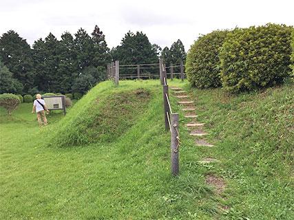 山中城 すり鉢曲輪跡