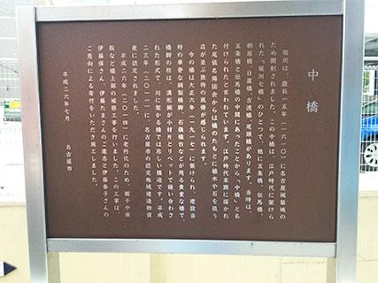 名古屋城 堀川 中橋