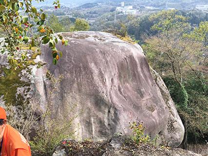 苗木城 馬洗岩