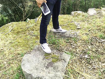 苗木城 厠跡