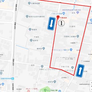 竹ヶ鼻城 地図